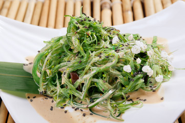 mix salad seaweed.