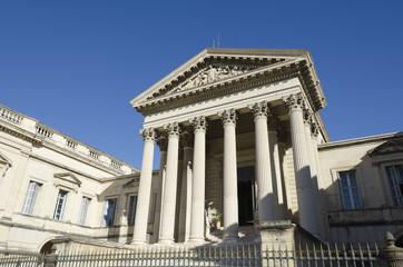 palais de justice de Montpellier, France
