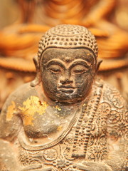 Ancient Buddha image in Thailand.