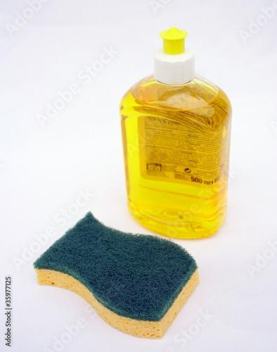 Liquide vaisselle et ponge photo libre de droits sur la banque d 39 images image - Porte eponge et produit vaisselle ...