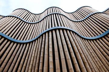 Bambusfassade