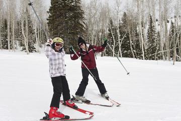Winter Fun on the Ski Slopes