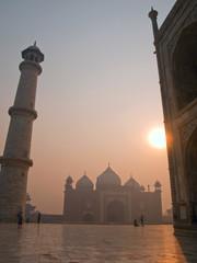 Keuken foto achterwand India The beautiful Taj Mahal in the morning, Agra - India