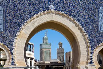Medina Gate in Fes
