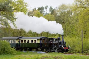 steam train, Boekelo - Haaksbergen, Netherlands