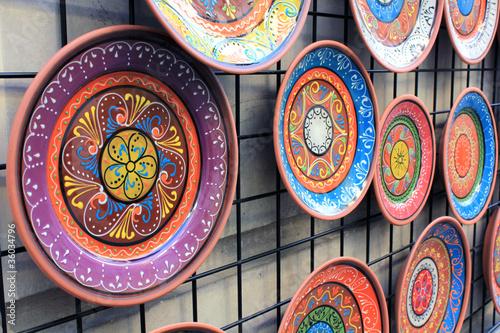 Platos de cer mica artesanal fotos de archivo e im genes libres de derechos en - Fotos de ceramica ...