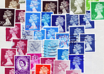 The Queen Stamps