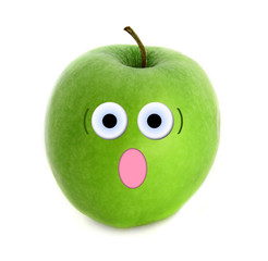 Shocked apple