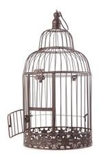 Vogelkäfig offen