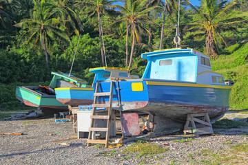 Barbados Fishing Boats