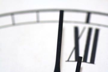 Nahaufnahme Uhr