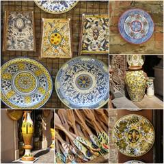 Ceramika  z Toskanii