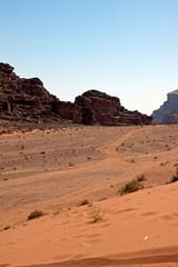 Wadi Rum deserto Giordania
