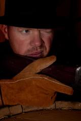 cowboy close shoot gun