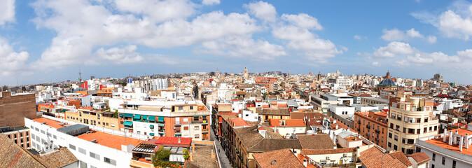 Panorama von Valencia, Spanien