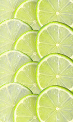 Fresh juicy lime slice background