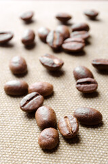 Coffee grains