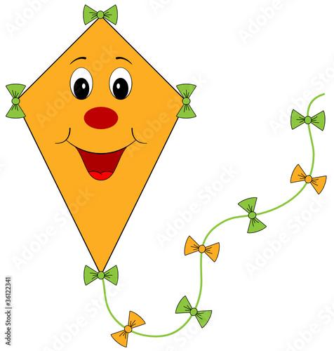 Lachender Oranger Drachen Herbstmotiv Stockfotos Und Lizenzfreie
