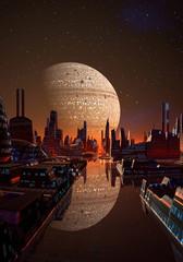 Futuristic City On An Alien Planet Part 9