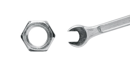 Big nut small spanner tool