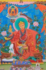 Картина с изображением буддийског