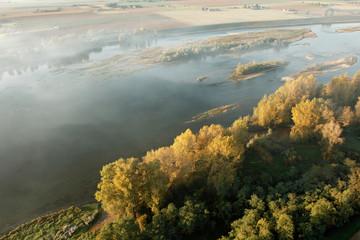 Brume au dessus de la Loire
