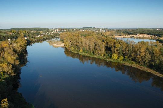 Photo aérienne de la Loire, Decize 58