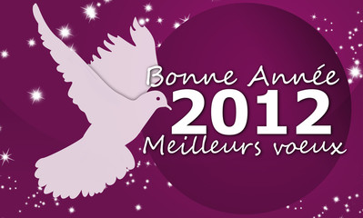 Happy New Year 2012 - Symbole paix