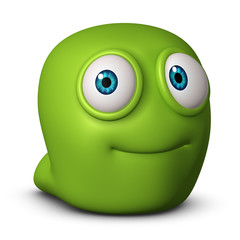 Recess Fitting Sweet Monsters cute green monster
