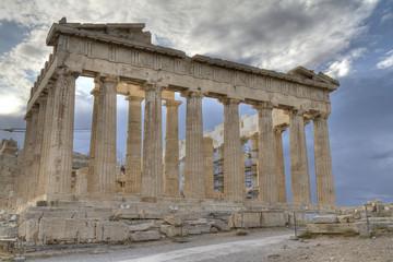 Acropolis and parthenon Athens Greece