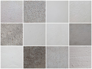 Set of textures of the walls