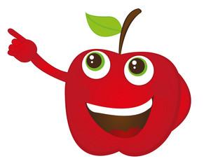 apple catoon