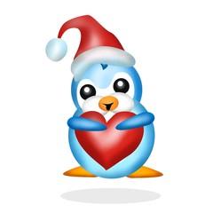 pinguino innamorato