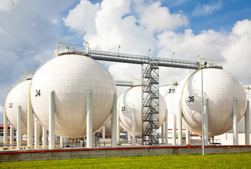 Oil storage photo