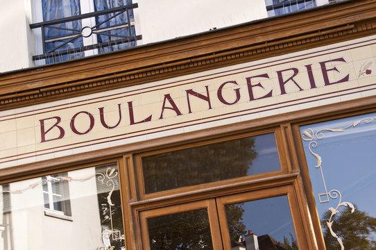 Vitrine de boulangerie - Paris, France