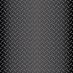 Seamless industrial diamond plate vector