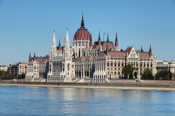 Wall Mural - Budapest - Hungarian parliament.