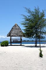 Kiosk on the beach