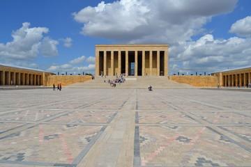 The mausoleum in Ankara