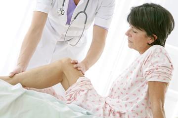 Hôpital - Visite post-opératoire