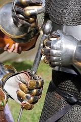 Gants de chevalier