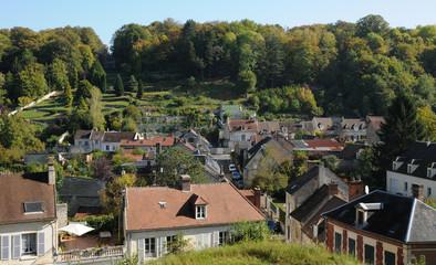 ville de Pierrefonds dans l'Oise