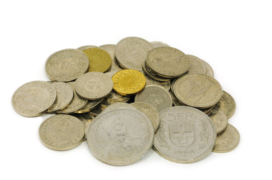 Schweizerfranken Kleingeld