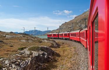 Mit der Berninabahn nach Tirano