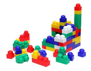 house of blocks - meccano toy