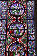 Photo sur Plexiglas Vitrail Seine-Saint-Denis - Basilique Saint-Denis