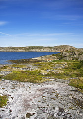 Fjord scenery in Norway