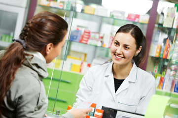Photo sur Aluminium Pharmacie medical pharmacy drug purchase