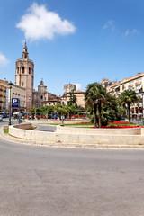 Plaza de la Reina, Valencia, Spanien