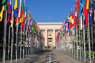 United Nations Palace of Nations geneva